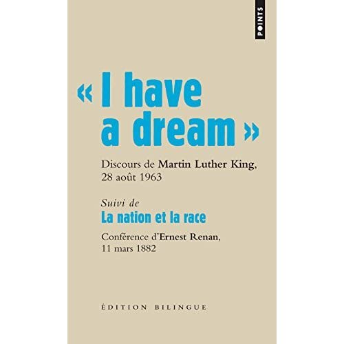 I Have a Dream . Discours Du Pasteur Martin Luther King, Washington D.C., 28 Aot 1963. by Martin Luther Dr (2009-08-04)