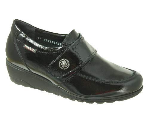 MOBILS-Chaussure Scratch-GAELA Noir verni 1000-Femme-36 FR 3,5 EU