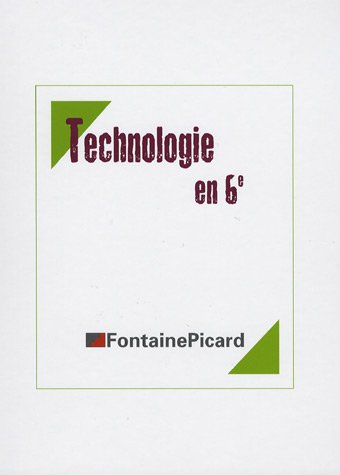 Technologie en 6e (3CD audio) par Claude Baras, Marie-Pierre Nauche