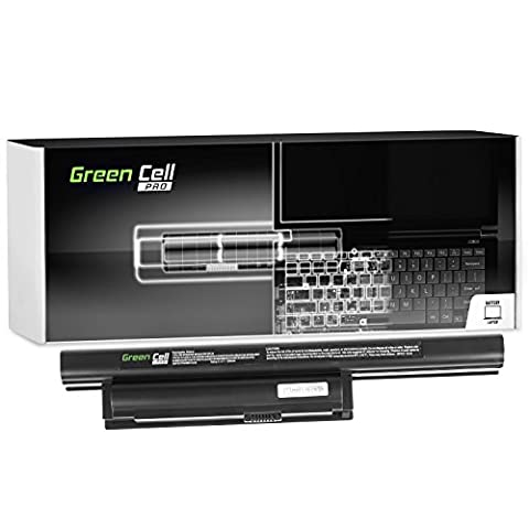 Green Cell® PRO Serie VGP-BPS22 VGP-BPS22A VGP-BPL22 Laptop Akku für Sony Vaio VPCEA VPCEB VPCEB1M1E VPCEB1S1E VPCEB2S1E VPCEB3M1E VPCEC (Original Samsung SDI Zellen, 6 Zellen, 5200mAh, Schwarz)