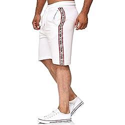 Red Bridge Pantalón Corto Rayas Deportivo para Hombre Verano Shorts
