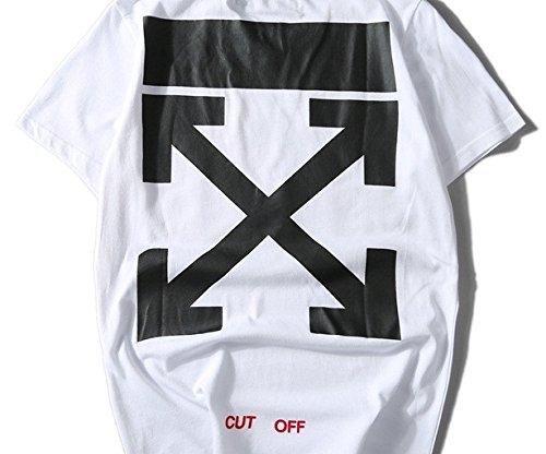 BOMOVO Herren OFF WHITE T-Shirt Super Premium von M L XL XXL Verschiedene Farben Weiß