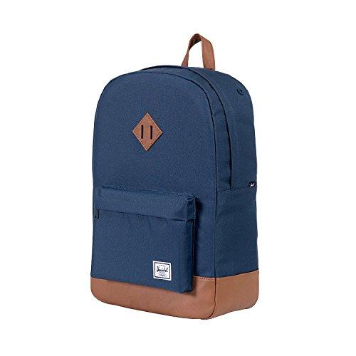Herschel Supply Co. Azul Marino/Marrón Heritage mochila