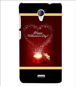 PrintDhaba Valentine Design D-2505 Back Case Cover for MICROMAX A106 UNITE 2 (Multi-Coloured)
