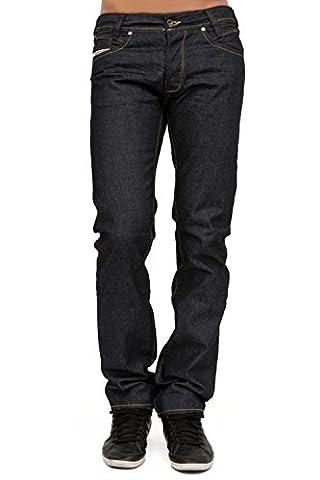 DIESEL - Herren Jeans IAKOP 88Z - Regular Slim - Tapered - Non Stretch - blau, W28 / L32