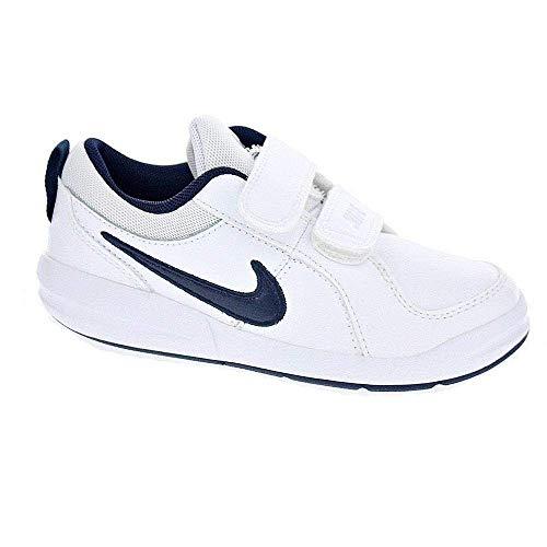 Nike pico 4 psv scarpe sportive, bambino, bianco (white / midnight navy), 28 eu