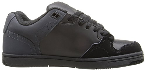 DVS Discord, Chaussures de skateboard homme Black/Grey/Black Nubuck