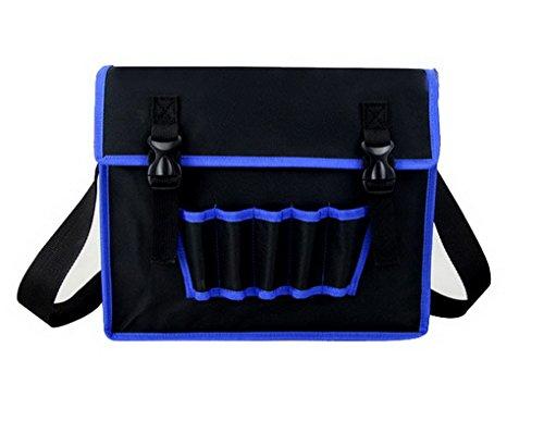 ACMEDE Werkzeugtasche,aus 600d Oxford,verstellbarer Gürtel,35x10,5x28cm
