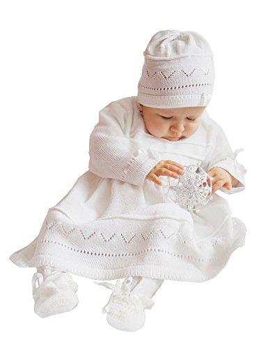 Boutique-Magique Baby Mädchen (0-24 Monate) Taufbekleidung Gr. 80, weiß