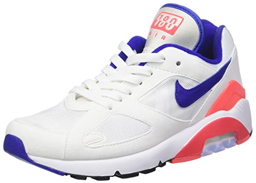 Nike Damen W AIR MAX 180 Laufschuhe, Mehrfarbig (Whiteultramarinesolar Re D Black 100), 40 EU -