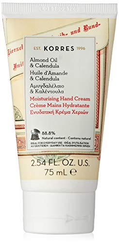 Korres Almond Oil und Calendula Handcreme, 1er Pack (1 x 75 ml) - Honig Body Butter