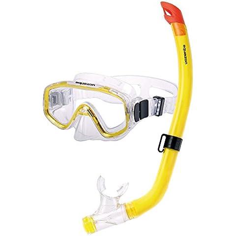 Aquazon–Juego de esnórquel para niños Fun, gafas y tubo de buceo, snorkel para niños de 4–8años