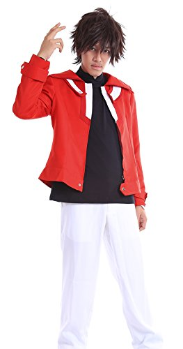 De-Cos Yu-Gi-Oh! Duel Monsters GX Slifer Slack Jaden Yuki Judai Outfit (Kostüme Yugioh Cosplay)