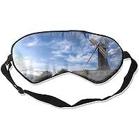 Windmill Foto Schlafmaske mit verstellbarem Gurt für Damen und Herren preisvergleich bei billige-tabletten.eu