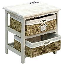 mueble auxiliar de madera indico