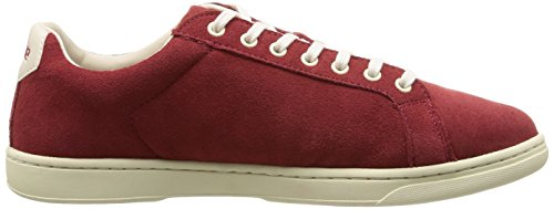 Aigle Yarden Time, Baskets mode homme Rouge (Carmin Cr)