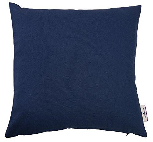 TOM TAILOR 580734 Kissenbezug ohne Füllung T-Dove 50 x 50 cm, dunkelblau (Elegant Toms)