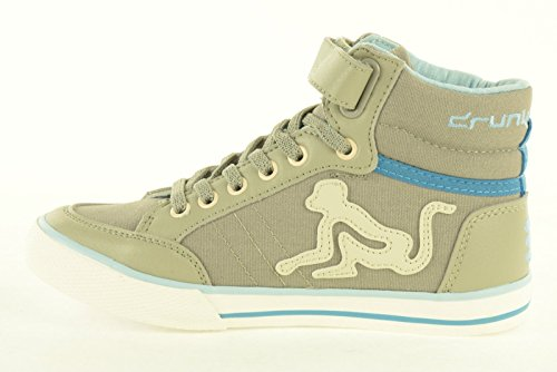 DRUNKNMUNKY BOSTON VINTAGE GREY SNEAKERS Kinder Grey