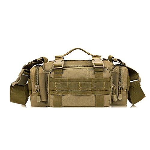 F@Esercito Camo nylon impermeabile maschio all'aperto tactical Pocket borsa a tracolla con Equitazione pacchetti , F G