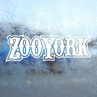Aufkleber / Autoaufkleber / Sticker / Decal Zoo York White Decal Surf Skate Snow Board BMX Car White Sticker