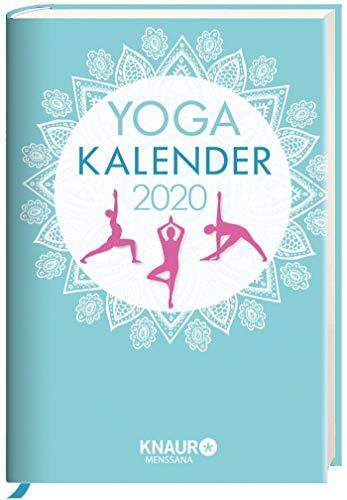 Yoga-Kalender 2020: Tageskalender, m. Yoga-Übungen für jeden Tag & zahlreichen Zitaten als Wochenimpulse, viel Platz für Notizen & Ferientermine, m. Leseband, 10,0 x 15,0 cm