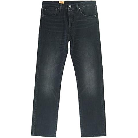 Levi's Mann Jeans 501, Regularfit Gre 366 Schwarz
