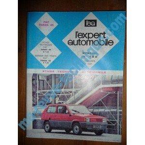 Descargar Libro REVUE TECHNIQUE EXPERT AUTOMOBILE FIAT PANDA 45 de Unknown