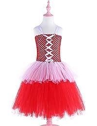 c6270df238 Los niños bailan trajes de vestir Niñas bebés Vestido de tutú de tul para niños  Vestido de fiesta de cumpleaños de princesa…