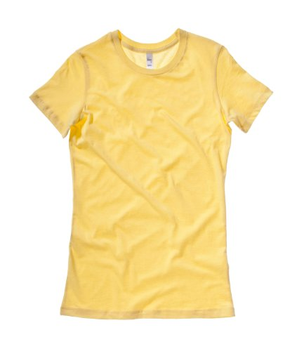 Bella Canvas - T-shirt -  Femme Jaune - Jaune