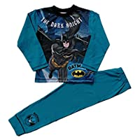 Boys Batman Pyjamas Dark Knight Pjs Ages 4 to 10 Years