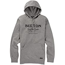 Burton Durable Goods Sudaderas, Hombre, Gray Heather, M