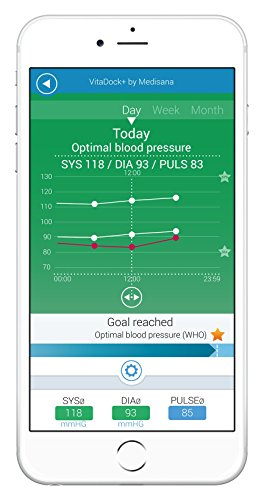 Medisana BU 550 connect Oberarm Blutdruckmessgerät, weiß - 4