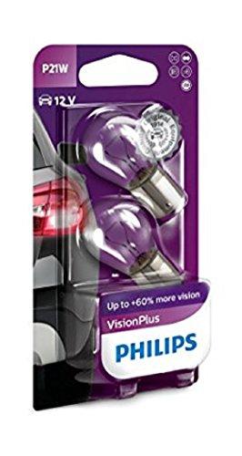 Philips 12498VPB2 VisionPlus P21W Signallampe 12498VPB2, gebraucht kaufen  Wird an jeden Ort in Deutschland