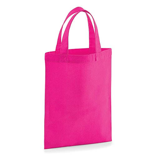 Westford Mill Party Bag For Life, Baumwolle Fuchsia