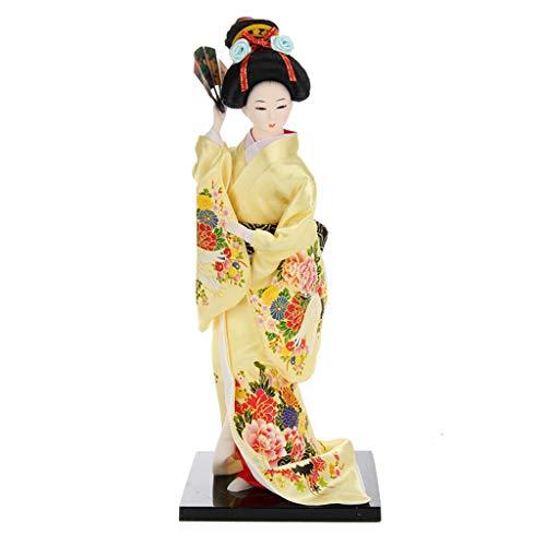 UIEMMY Skulptur Schmuckstücke Retro Japanische Kabuki Puppe