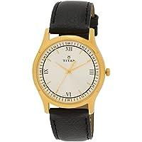 Titan Analog Multiclolor Dial Men's Watch - 1636YL01