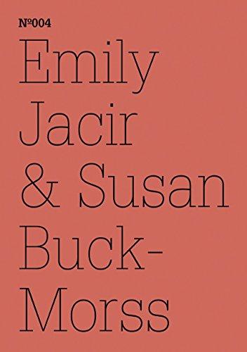 Emily Jacir & Susan Buck-Morris (Documenta 13) by Emily Jacir (Illustrator), Susan Buck-Morss (Illustrator) (1-Mar-2011) Paperback