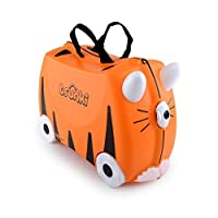 Trunki: The Original Ride-On Suitcase NEW, Tipu (Orange) by Trunki