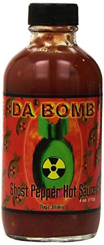 Da` Bomb Ghost Pepper Hot Sauce - Ghost ' Pepper