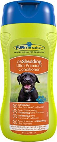 FURminator Fellpflege deShedding Anti-Haaren Ultra Premium-Conditioner für Hunde und Katzen, reduziert das Haaren, 1 Flasche (1 x 250 ml) -
