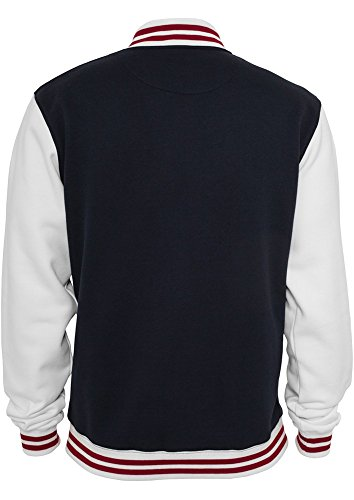 TB444 3-tone College Sweatjacket Herren - 2