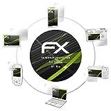 atFoliX Protección de Pantalla para Vaptio N1 Pro Lámina protectora Espejo, efecto espejo FX Protector de pantalla Espejo