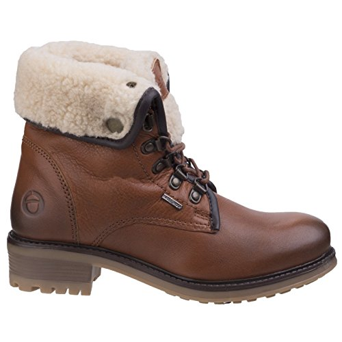Cotswold Femmes Asthall Ladies Imperméable Bottes Bottines Cuir Tan