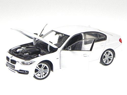 Preisvergleich Produktbild BMW F30 3er Reihe 335i weiss Modellauto 24039 Welly 1:24