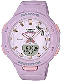 Casio Analog-Digital Purple Dial Women's Watch-BSA-B100-4A2DR (BX148)