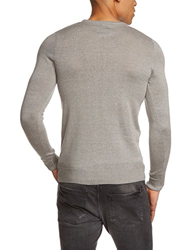 Blend 700356, Pull Homme Gris (Grey 70815 Zink mix)