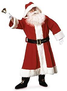Rubies 2370 - Disfraz de Papá Noel para hombre