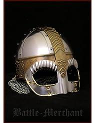 Gafas de casco Beowulf mejillas con solapas y aventail