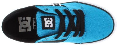 DC Shoes - Sneaker BRISTOL CNVAS, Bambino Turchese (Türkis (TURQUOISE/BLACK))