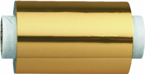 Fripac-Medis - Papel de aluminio, 12 cm x 100 m, color oro